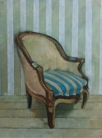 Mlle Epiteau's Chair