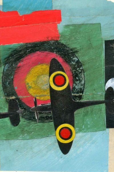 CEASEFIRE collage and mixed media 2011