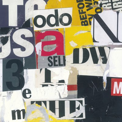 TEXTUAL COLLAGE 2008 - 2011