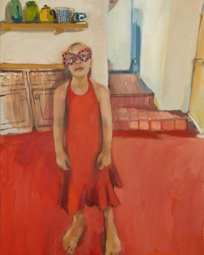 Girl In A Red Dress, France